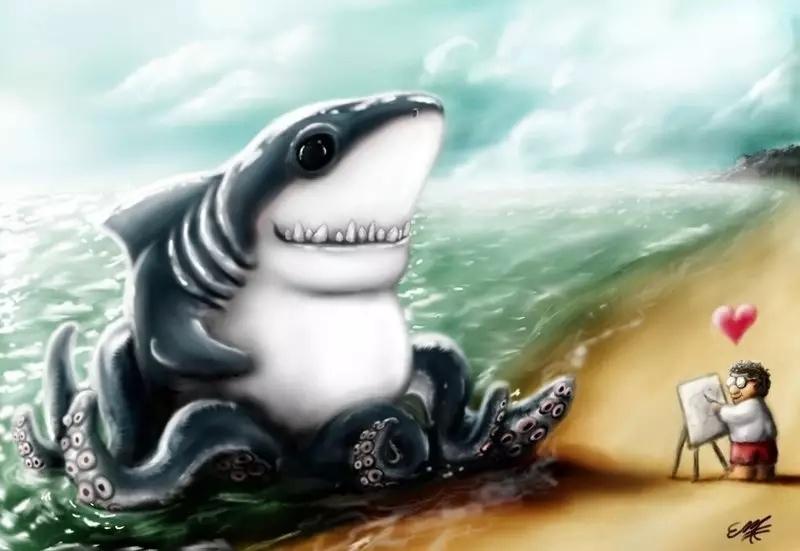 sharktopus vs megalodon