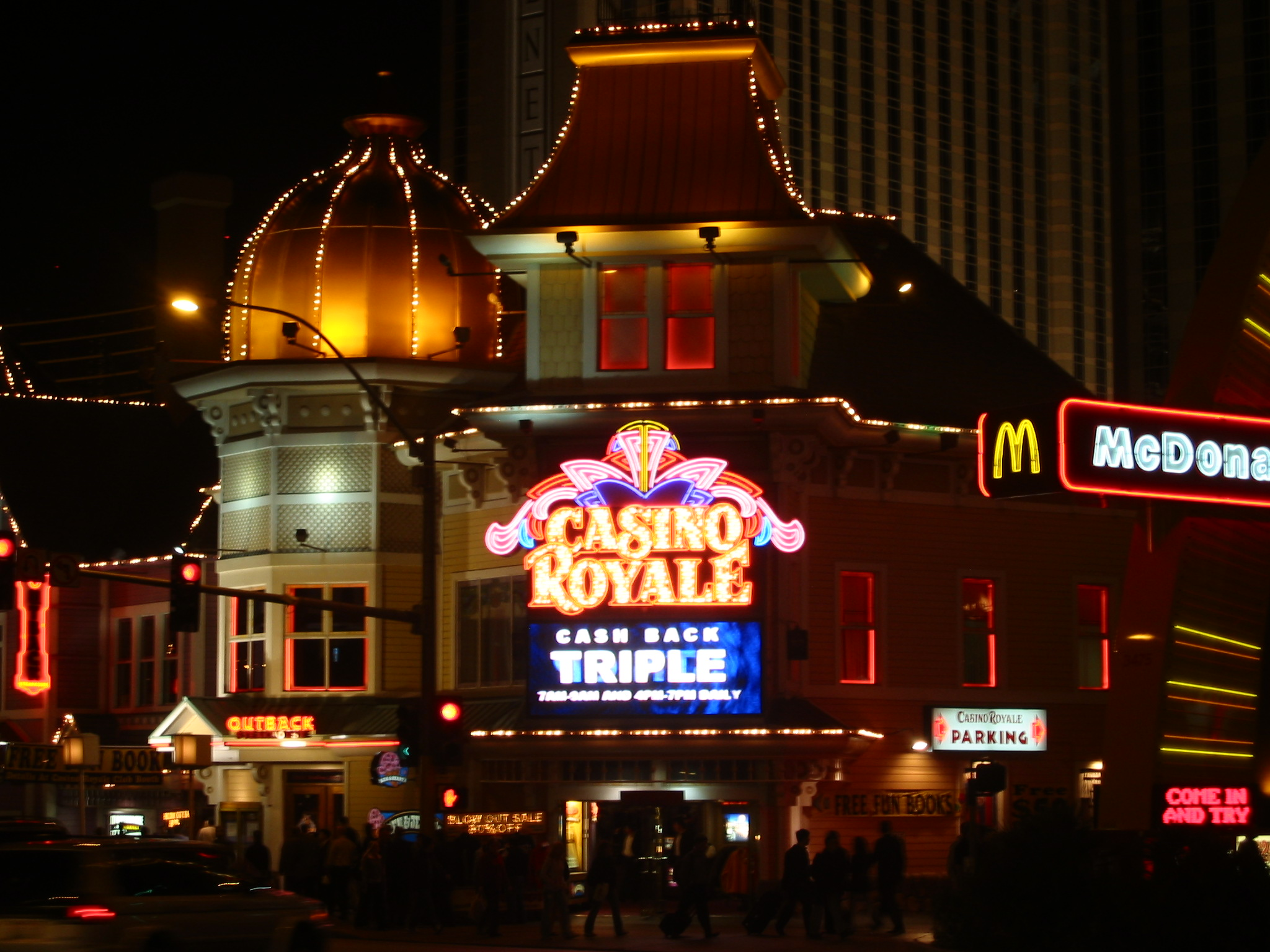 CASINO ROYAL HOTEL VEGAS